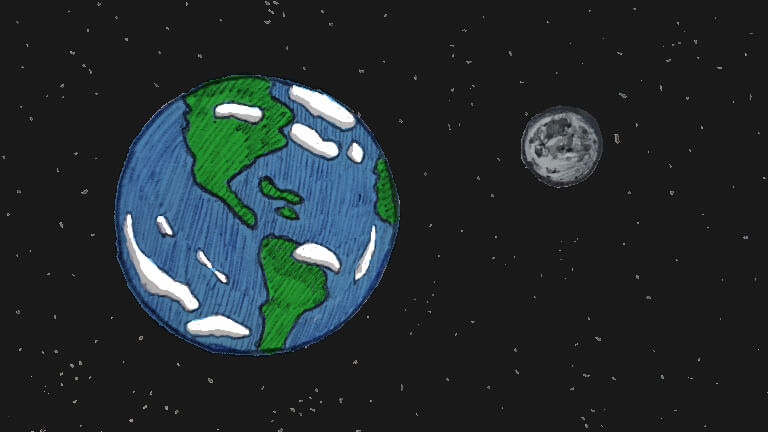 Earth & Moon - For The Meaning of Life Article