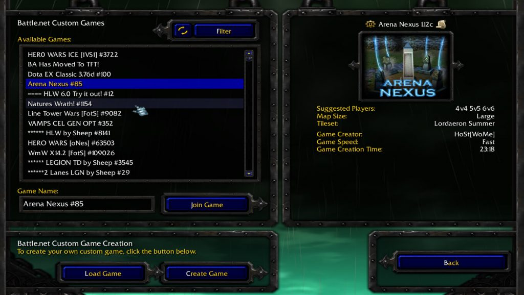 Warcraft 3 Multiplayer Custom Maps