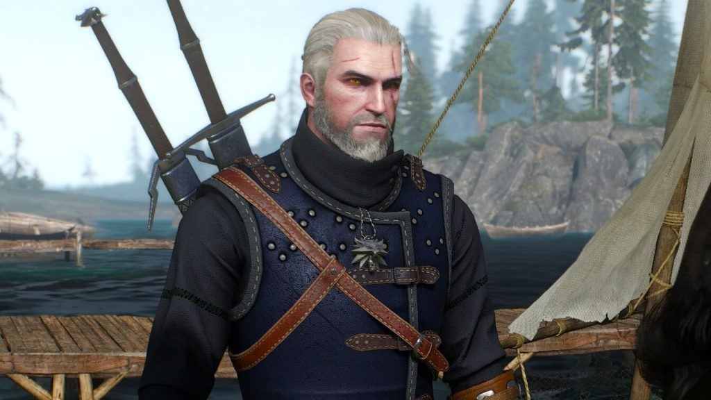 Witcher 3 - Geralt in Enhanced Cat (Feline) School Gear