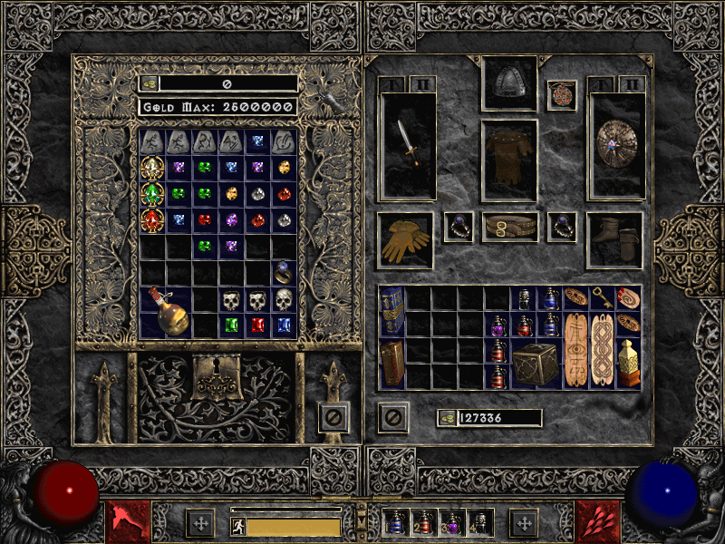 diablo 2 full stash screenshot
