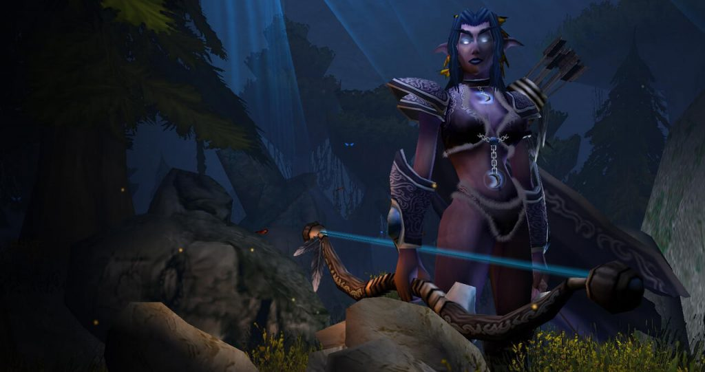 Warcraft III Reign of Chaos - Night-Elf Banner