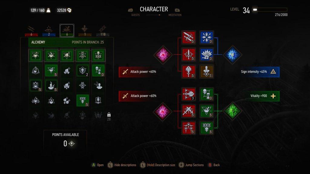 Best Build - Alchemy Tree Screenshot