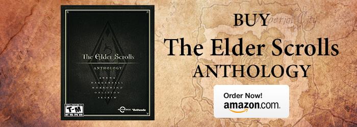 Elder Scrolls Anthology Purchase Banner