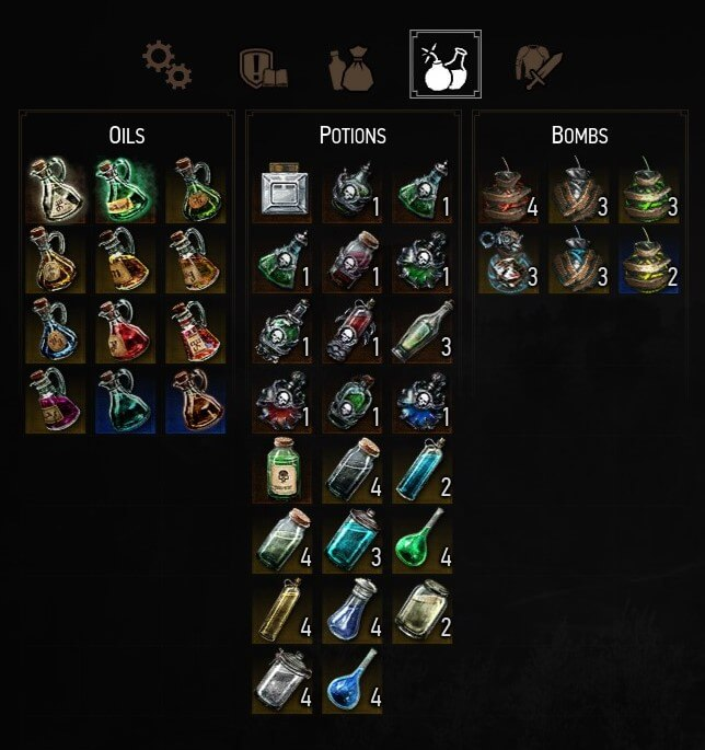 The Best Potions, Decoctions & Bombs