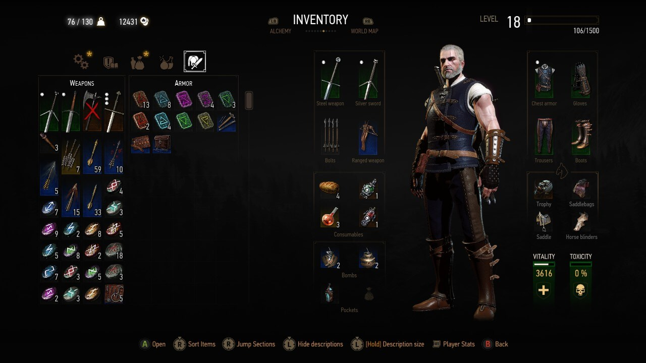 The witcher 3 easy leveling guide tips strategies full feline green set solutioingenieria Image collections