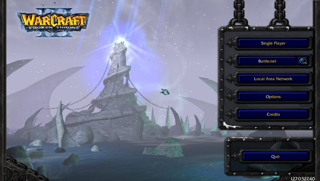 Warcraft 3 Frozen Throne Expansion Loading Screen
