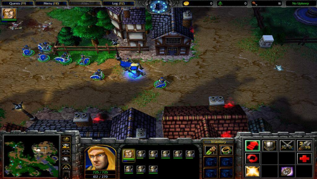 Warcraft 3 Human  Campaign Arthas