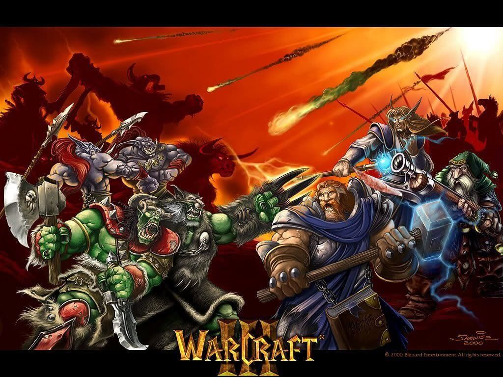 Warcraft 3 Reign of Choas Wallpaper 2