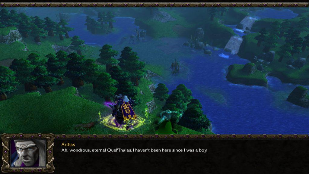 Warcraft 3 Undead Campaign Cutscene