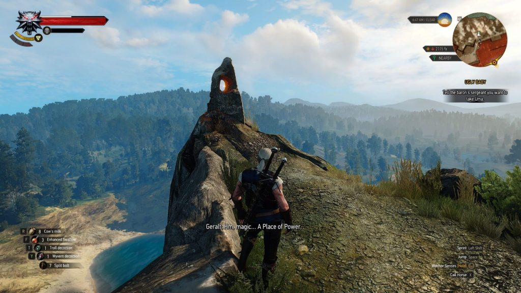 Witcher 3 Place of Power Screenshot