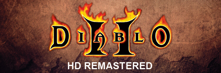 Diablo 2 HD Remastered Banner