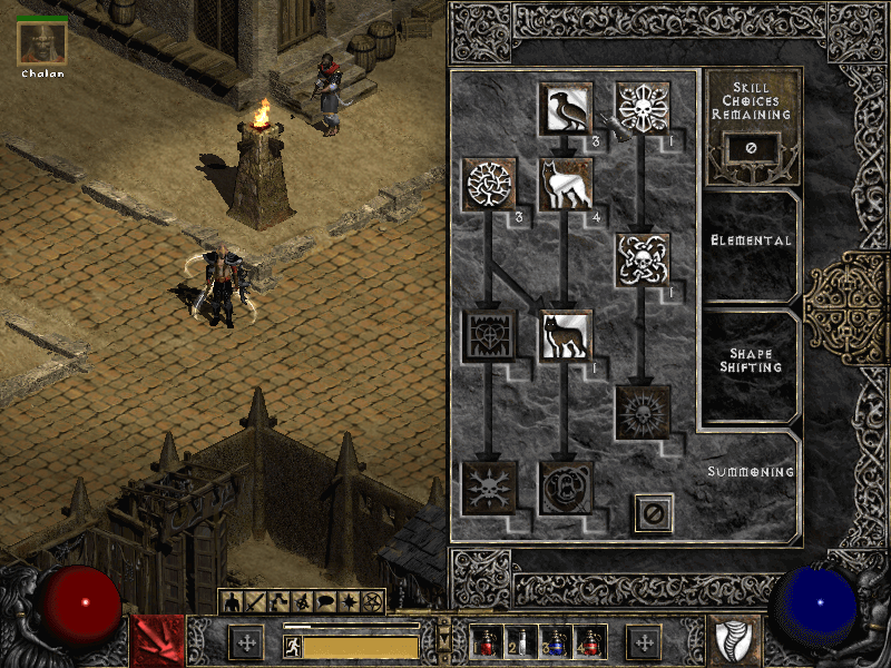 diablo 2 skill respec screenshot