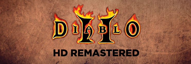 Diablo 2 HD Remastered Banner