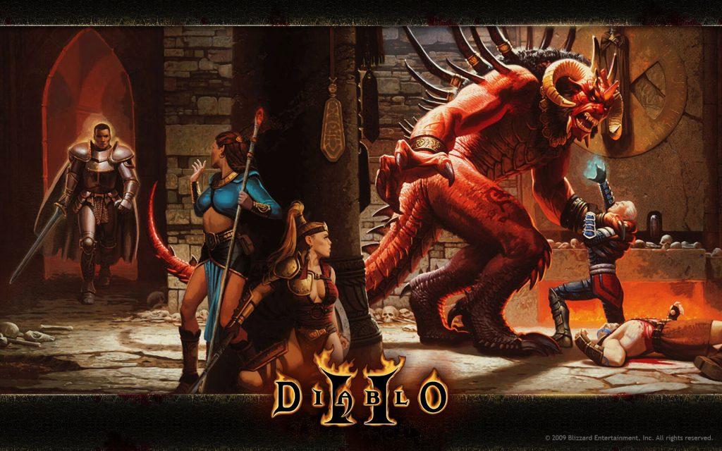 New Diablo 2 Blizzard Official Art