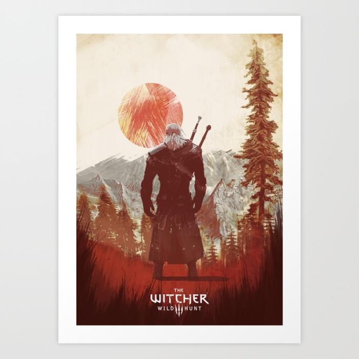Witcher 3: Wild Hunt Prints