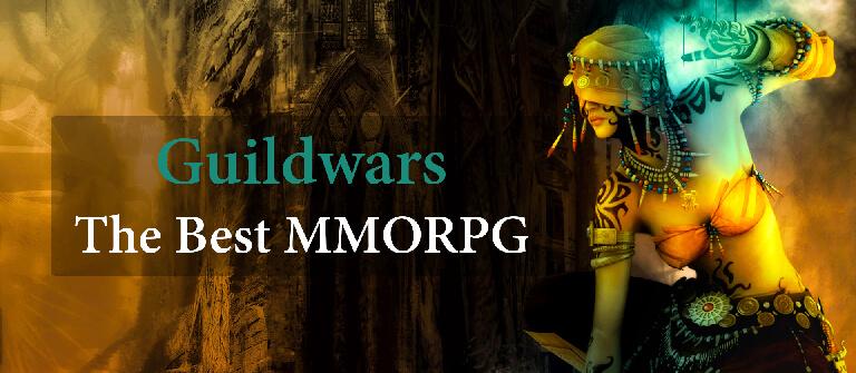 Guildwars Best MMORPG Banner