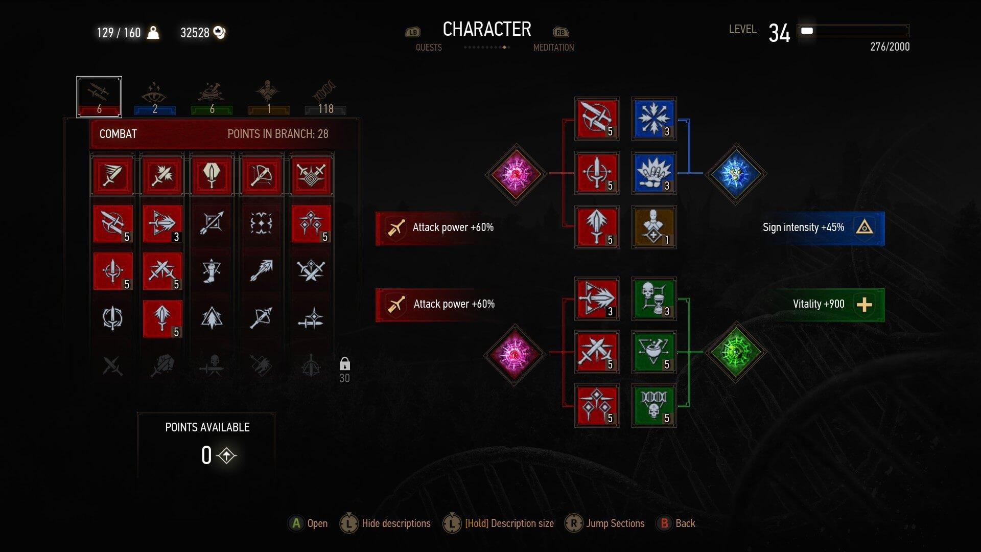The Witcher 3 - Best Build | Combat Alchemy Hybrid Build [ Blademaster ]