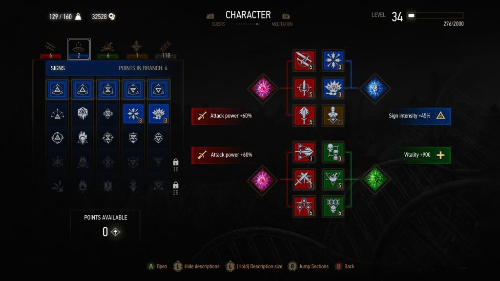 Witcher  Axii Build