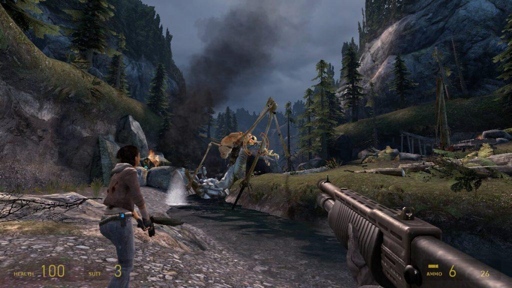 Half Life 2 Episode Two Screenshot