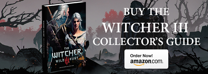 Witcher 3 Collecter's Guide Purchase Banner