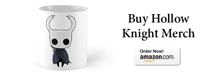 Hollow Knight Merchandise Banner