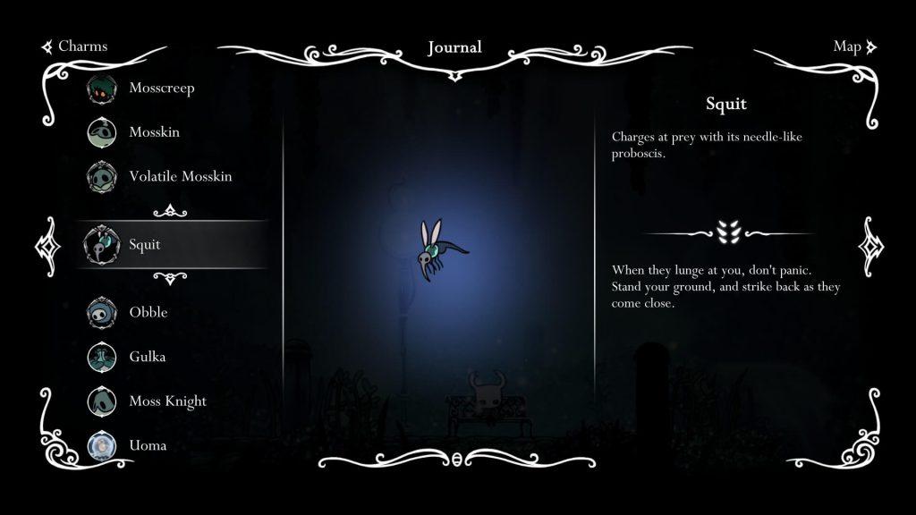 HollowKnight- Hunter's Journal