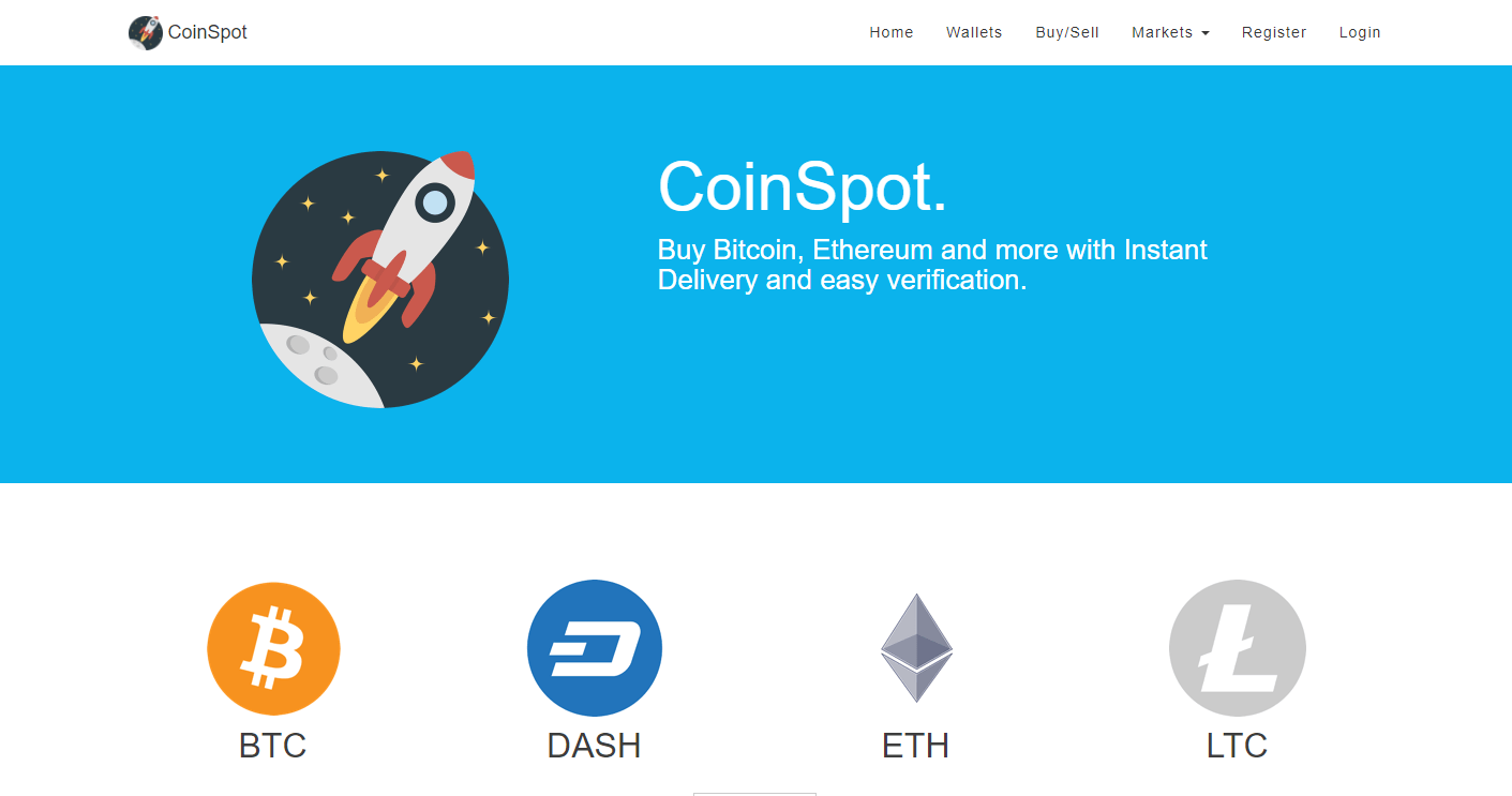 CoinSpot Home Banner