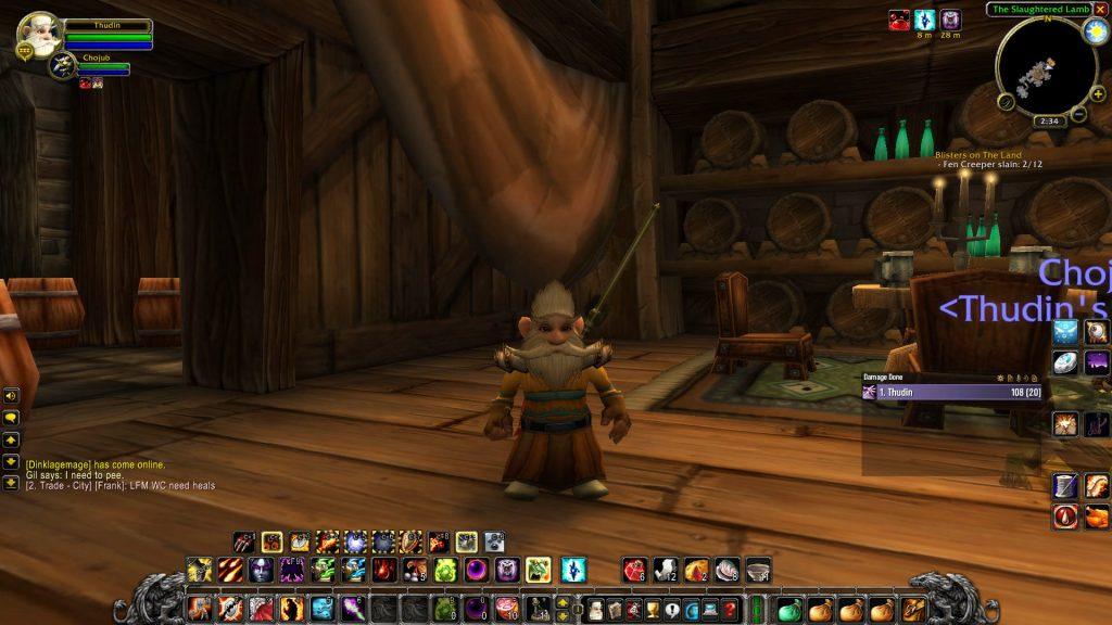 WOWClassic- Thudin Gnome Warlock