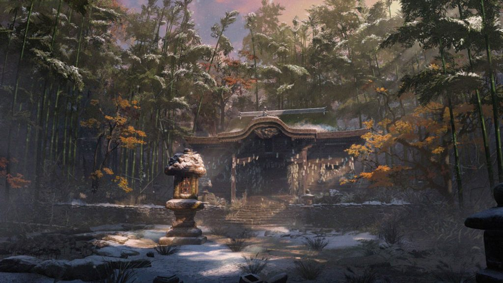 Temple Concept Art - Sekiro Guide