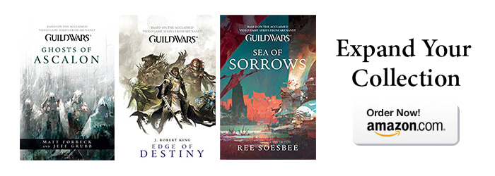 Guildwars Book Trilogy Sale Banner