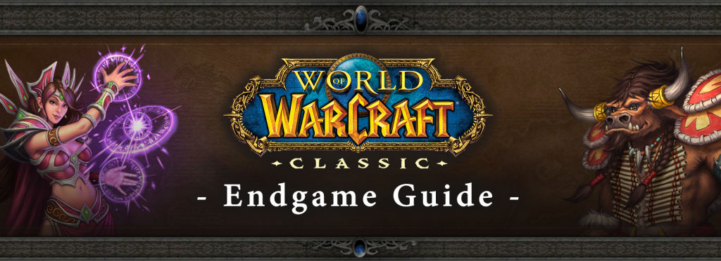 WOW Classic Endgame Guide Banner